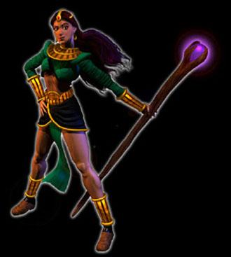 sorceress - Isendra, D2 Sorceress Hero Concept.