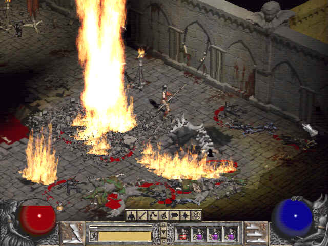 how to get to catacombs diablo 2